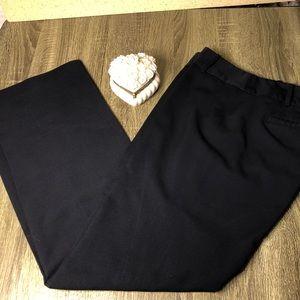 Ann Taylor Signature fit navy slacks